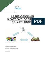 La Transposición Didáctica y Los Pilares de La Educación