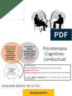 08. Modelos Psicoterapia - Cognitivo Conductual
