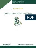 Moran - Introducción a La Fenomenología