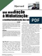 mediação à mediatização
