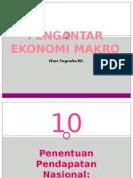 Pengantar Makro Bab 10