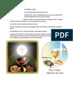 Los Símbolos de La Eucaristía