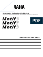 manual MOTIF  6 7 8