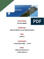 Tarea 4 de Didactica Especial de La Ciencias Sociales