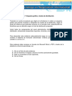 Evidencia 7 Esquema Gráfico, Niveles de Distribución