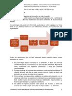 3. Analisis de Estrategia a Nivel de Empresa