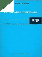 La Palabra Inspirada - Luis Alonso Schökel