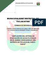 Tdr Ticlacayan
