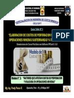 Módulo 2 - Factores Que Afectan Costos Perf. y Voladura en Operaciones Mineras (19-May-17)