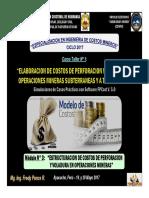 Estructuracion de Costos Perforacion y Voladura en Operaciones Mineras