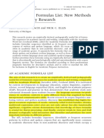 Vlach and Ellis, 2010 - An Academic Formulas List New Methods in Phraseology Research