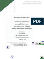 Amplificación de voltajecon emisor comun