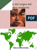 5.- Teorías Del Origen Del Hombre Moderno 2014