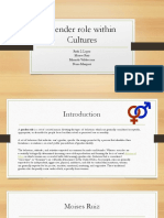 gender role with in cultures ed  pdf