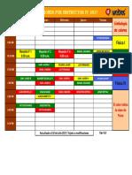 Distribución Secciones IV Trim 2017