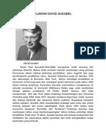 129540636 Teori Pembelajaran David Ausubel