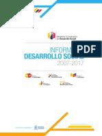 Ministerio Desarrollo Social libro_social-2007-2017