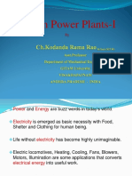 Steam Power Plants-1