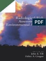 Till & Grogan (Eds) Radiological Risk Assessment and Environmental Analysis