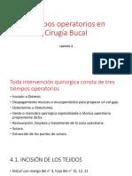 Tiempos operatorios en Cirugía Bucal.pptx