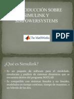 Introducción Simulink y Simpowersystem
