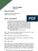 ED Paradigm 09 - Consciousness