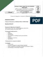 Protocol Diagnostic Durerea Lombara Joasa