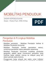 11 - MOBILITAS PENDUDUK