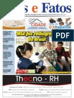Jornal Atos e Fatos - Ed. 686 - 06-08-2010