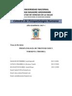 Fisiopatologia de Tirotoxicosis y Tormenta Tiroidea