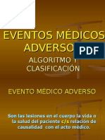 EVENTOS MEDICOS ADVERSOS.ppt