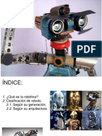 5 Generaciones de Robots