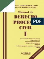 Manual de Derecho Procesal Civil De Ferreyra de la Rua