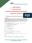PassLeader 70-532 Exam Dumps (91-120)