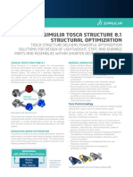 Datasheet Tosca Structure General