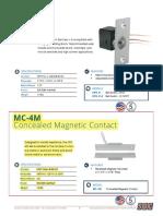 5. SDC MC4MV Door Contact