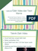 Pertemuan 10 Olah Video Dan Warna