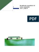 Rectificador -48V 2700 W