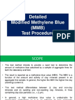 Modified Methylene Blue Test
