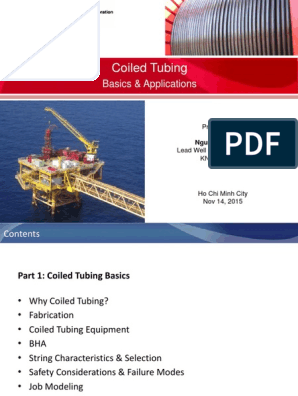 Coiled-Tubing pdf | Pump | Industries