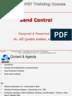 C6 Sand Control