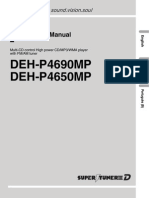 PioneerCaraudioManual-DEHP465090MP