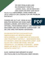 EDH Pre VSL 1€ Einsprichskript