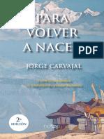 Para Volver a Nacer - Jorge Carvajal