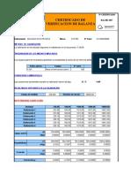 Certificado de Verificacion de Balanzas F09-28