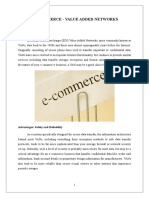 e Commerce and Value Added Networks