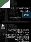 SQL Considered Harmful