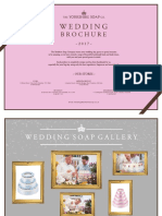 Yorkshire Soap Company Wedding Brochure pdf | Rose | Red