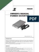 PNVU200 Inverter Manual