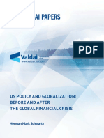 Valdai Paper_US Policy and Globalization